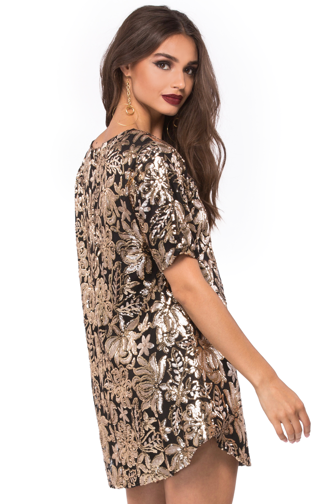Saturday Night Sequin Dress
