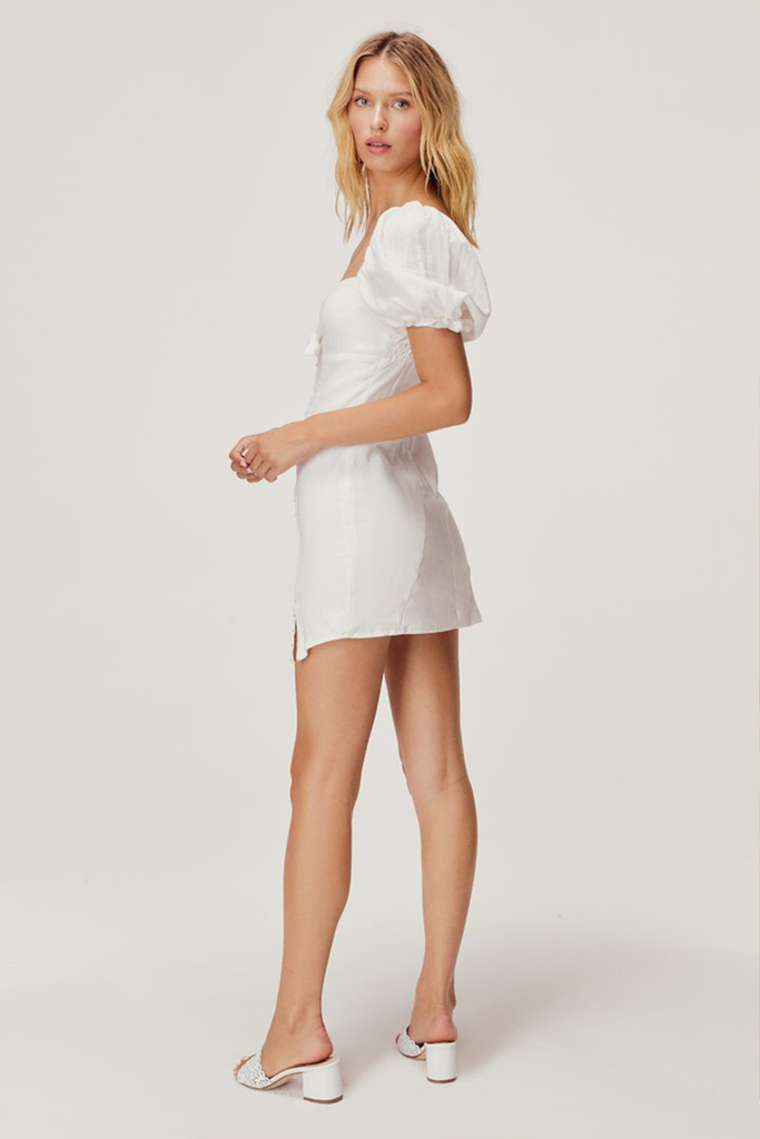 Macaroon Hook Front Mini Dress
