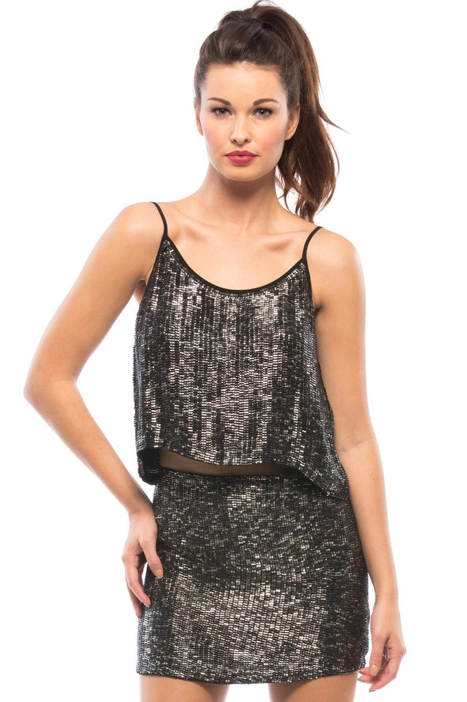 Ozzy Sequin Top