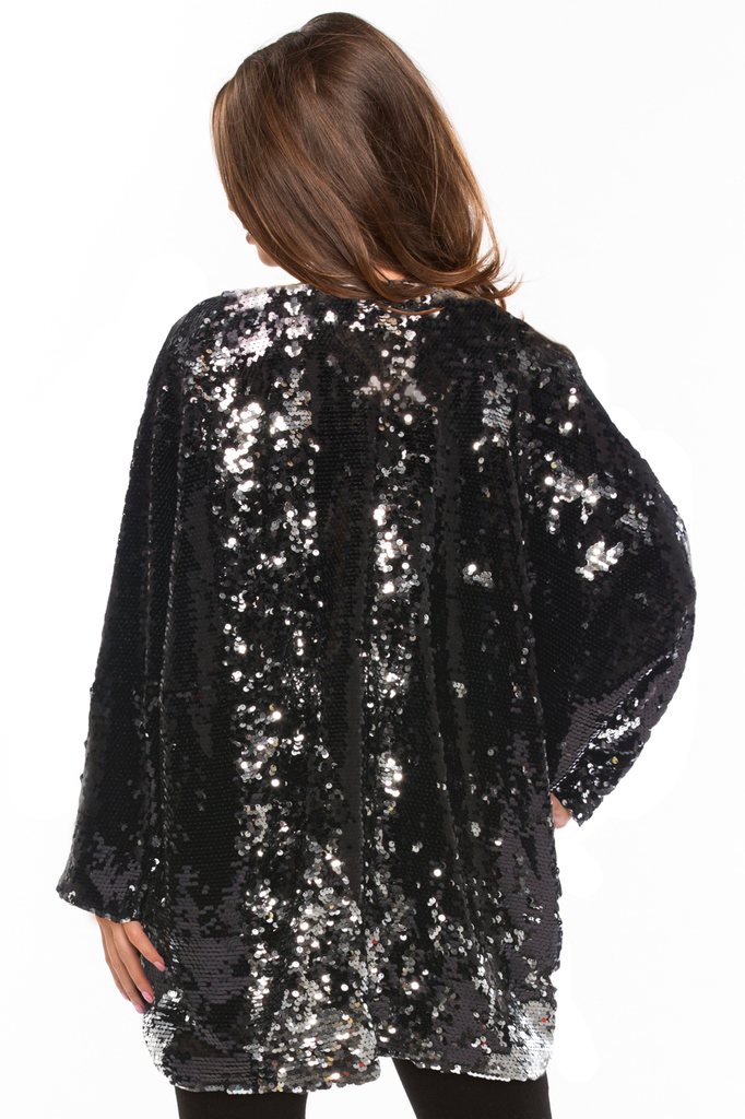 Great Escape Sequin Cape