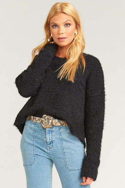 Cropped Varsity Sweater - Sugarillashop.com