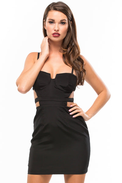 Bustier Mini Dress - Sugarillashop.com