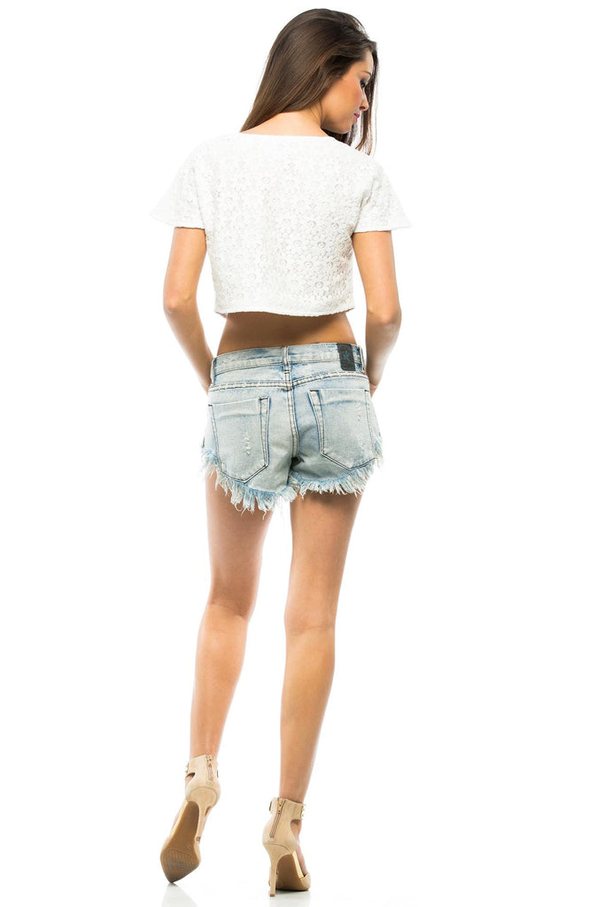 Daisy Crop Top - Sugarillashop.com