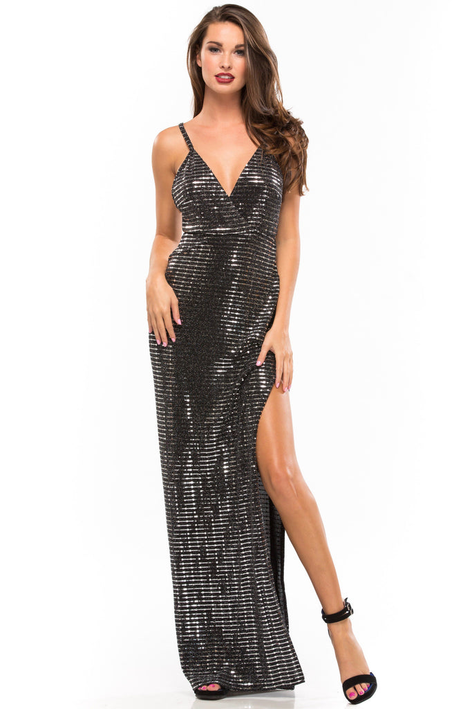 All Shook Up Maxi Dress - Sugarillashop.com