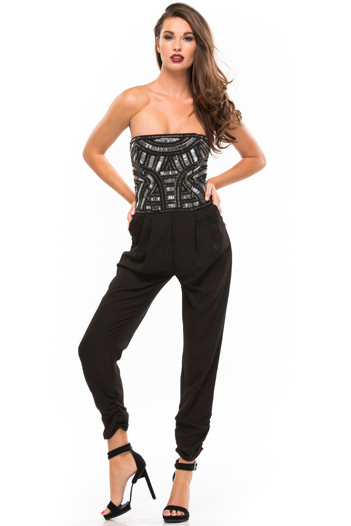 Giovanna Embellished Jumpsuit