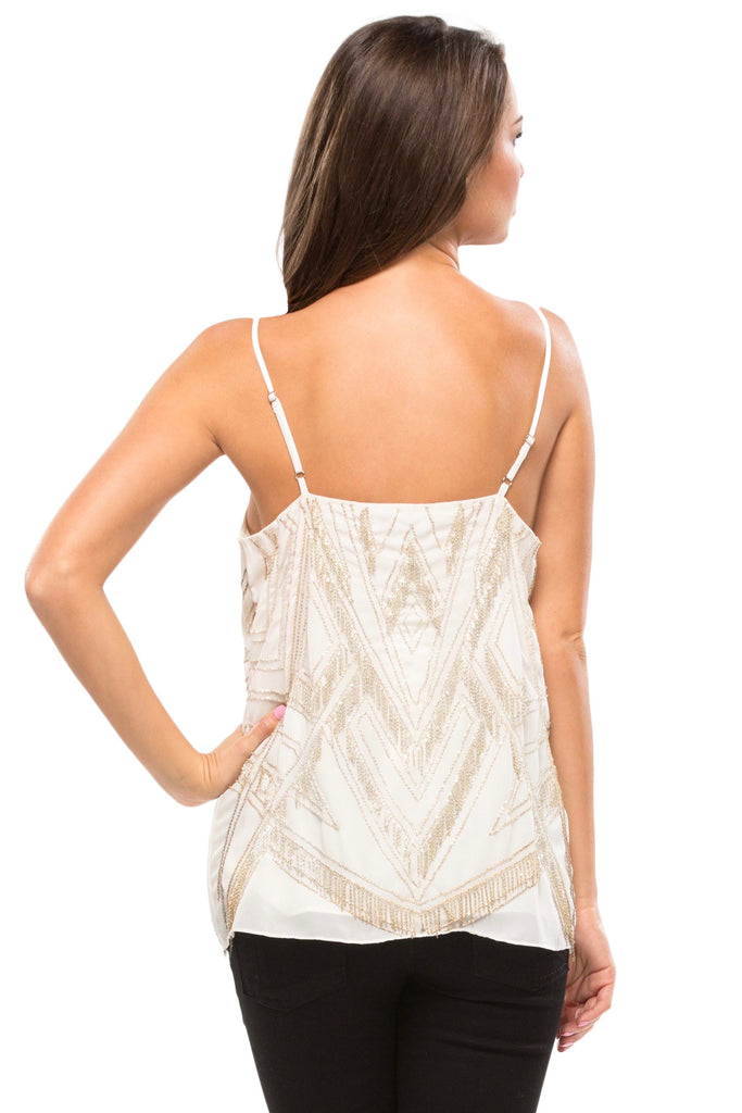 Marley Beaded Fringe Tank