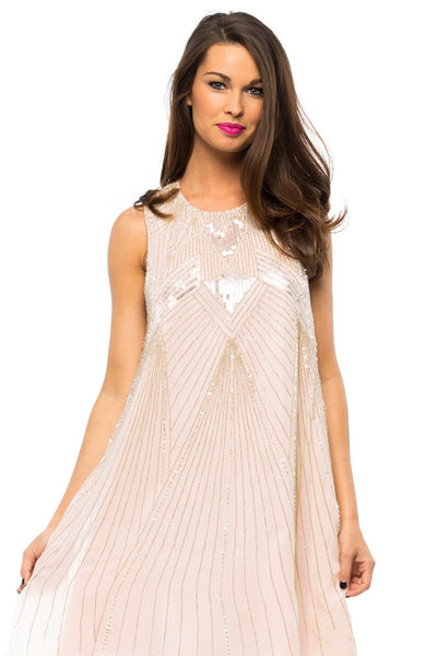 Peony Embellished Dress