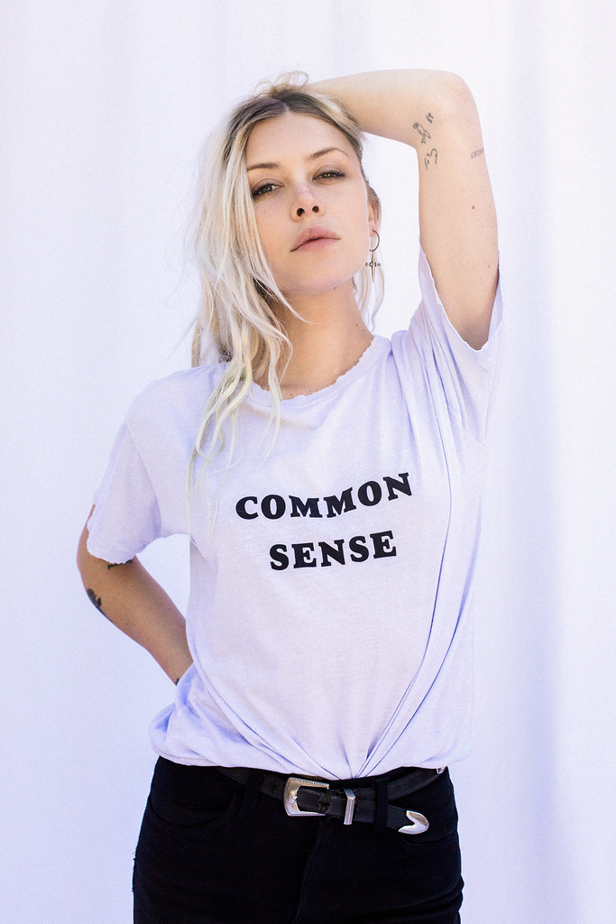 Common Sense Tee - Sugarillashop.com