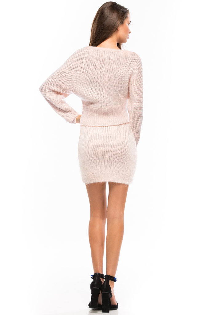The Pink Slipper Sweater