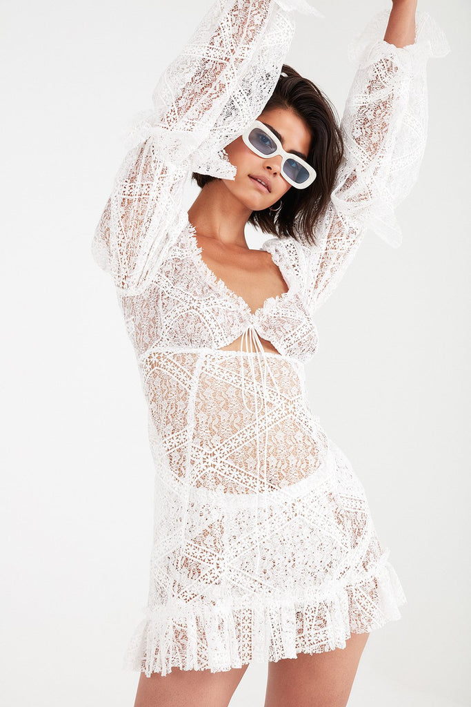 Sequoia Lace Mini Dress
