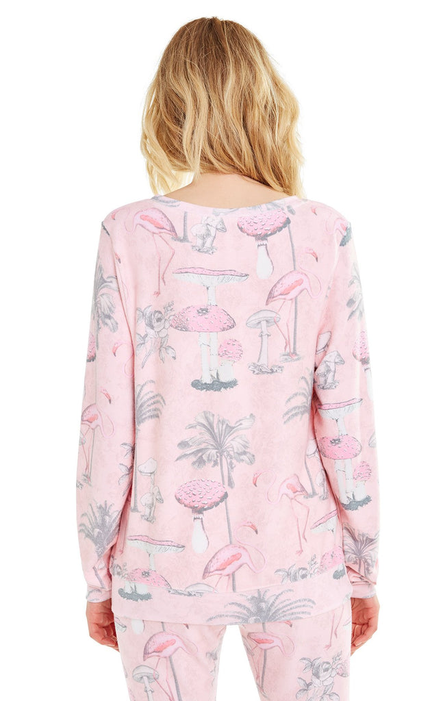 Pink Paradise Baggy Beach Jumper