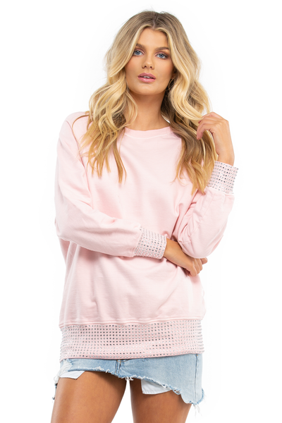 Pink Crystal Jumper