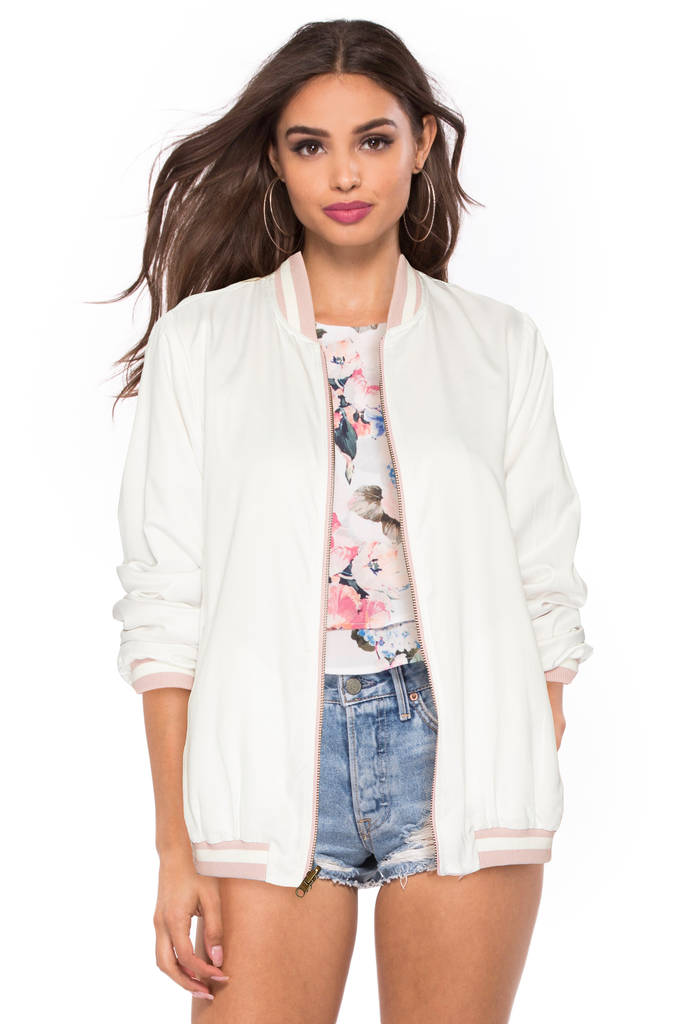 Bomber Jacket - Sugarillashop.com