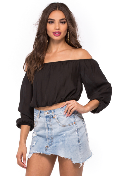Lima Scrunch Top