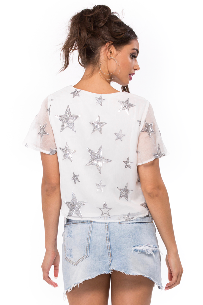 Oasis Lace Up Crop