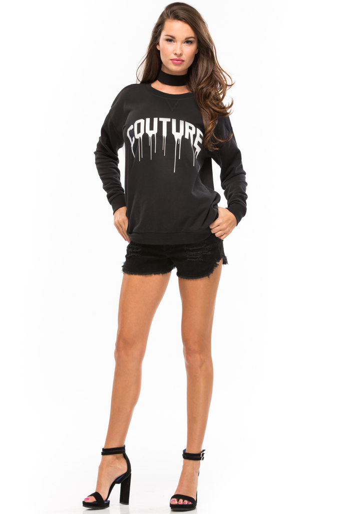 Couture Raglan Sweatshirt