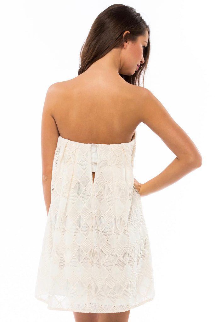 Empire Strapless Dress