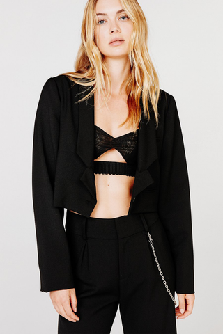 Turner Cropped Blazer