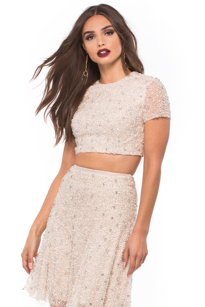 Beaded Two Piece