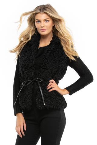 Country Days Fluffy Gilet