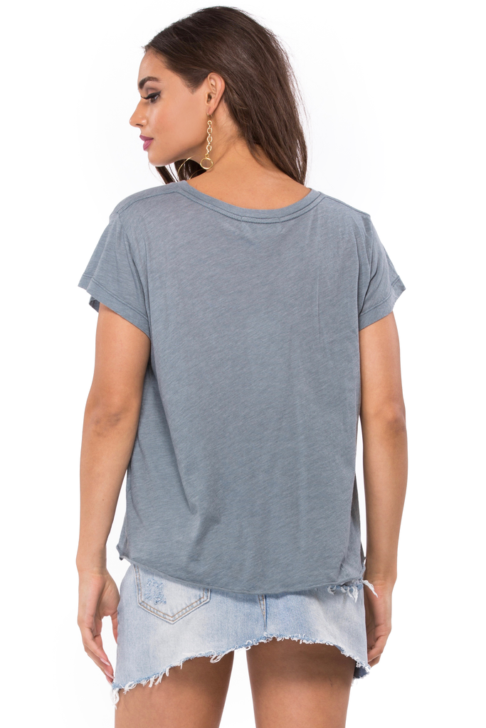 Wildfox 7 Day Weekend Romeo V-Neck Tee - Sugarillashop.com