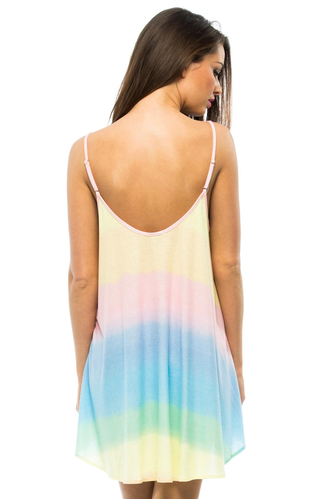 Pastel Tie Dye Bell's Beach Dress