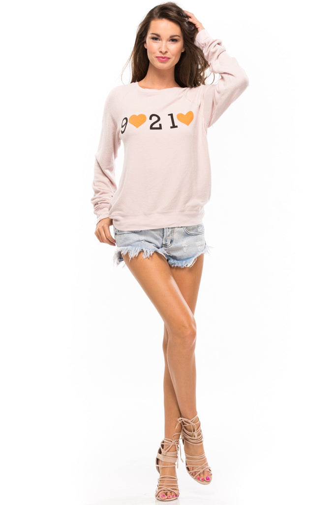 Beverly Hills Tourist Baggy Beach Raglan