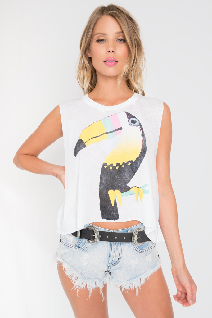 Bird In Paradise Chad Tank - Sugarillashop.com