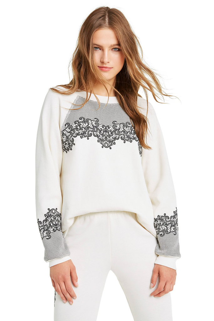 Chantily Lace Sommers Sweater - Sugarillashop.com
