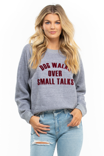 Dog Walks Sommers Sweatshirt
