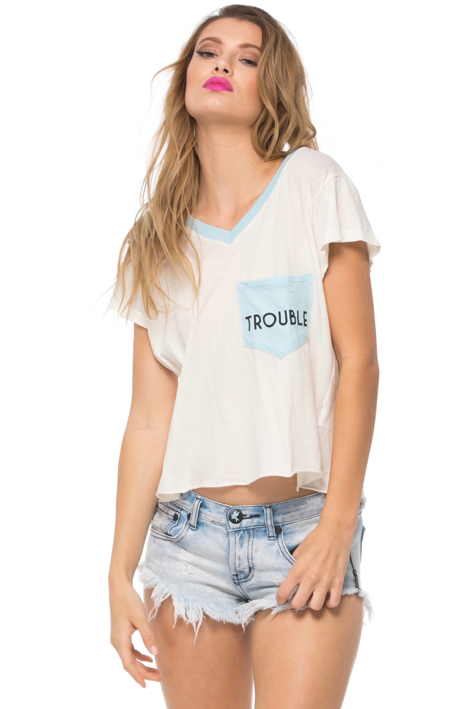Trouble Romeo Pocket Tee