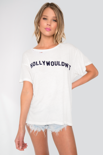 Hollywouldn't Destroyed Manchester Tee