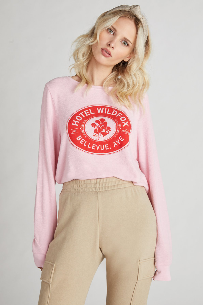 Hotel Wildfox Baggy Beach Jumper