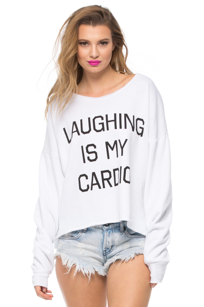 Laughing Is My Cardio 5AM Sweatshirt