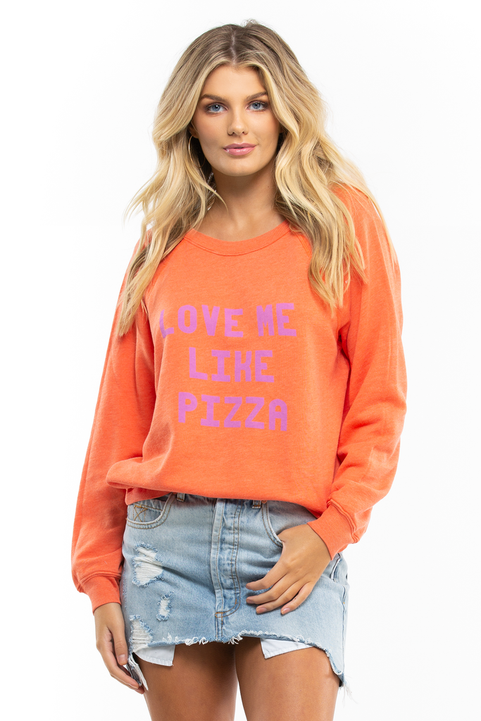 Love Me Like Pizza Sommers Sweater