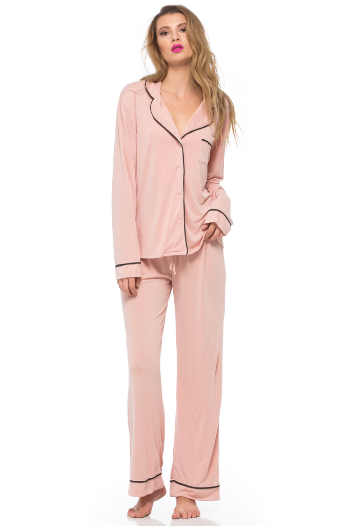 From Me to You Classic PJ Jacket Set