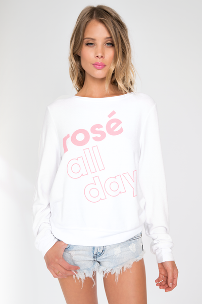 More Rose Baggy Beach Jumper