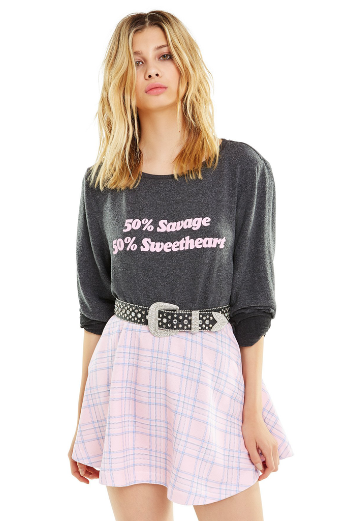 Savage Sweetheart Baggy Beach Jumper