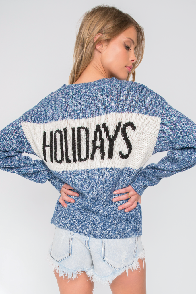School Holiday Tardy Sweater