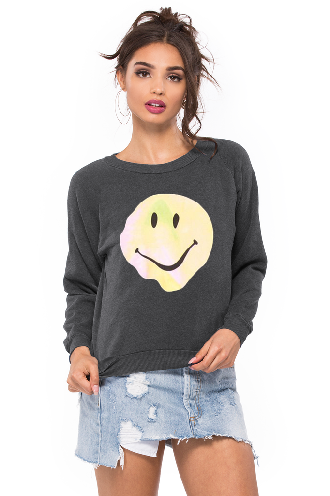 Psychedelic Smiley Junior Sweatshirt