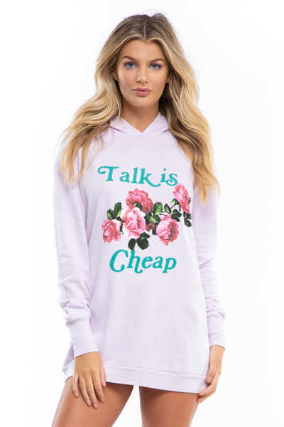 Talk Is Cheap Rebel Hoodie
