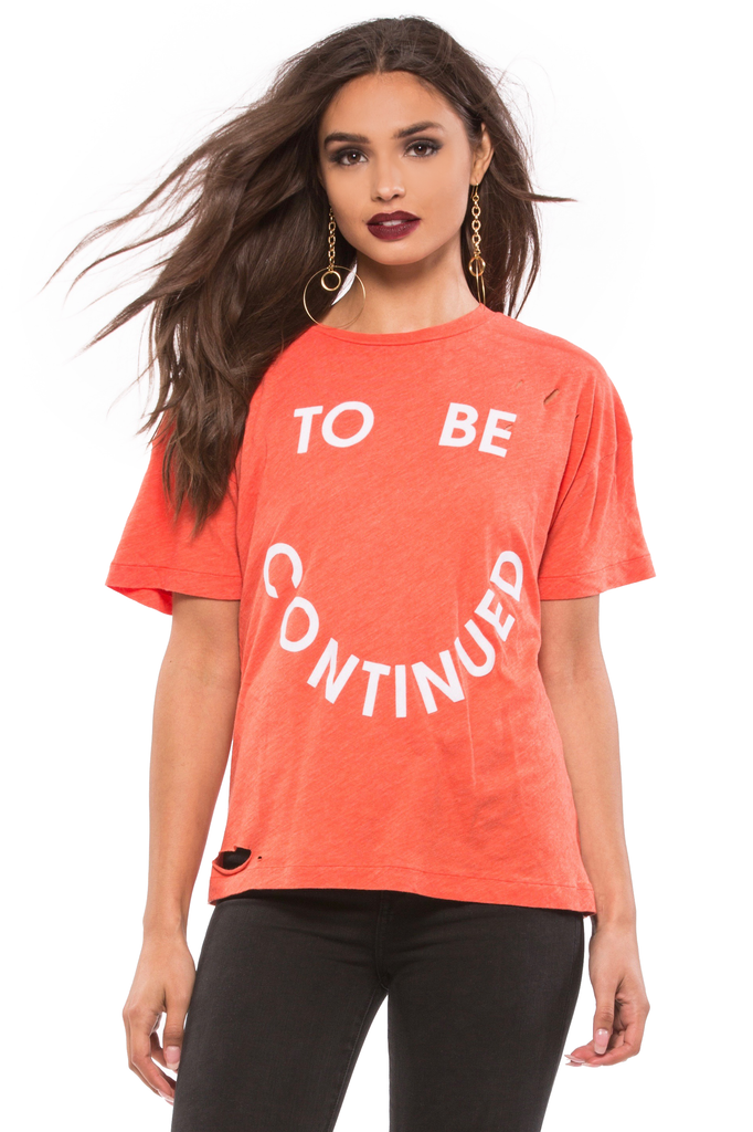 To Be Continued Destroyed Sonic Tee