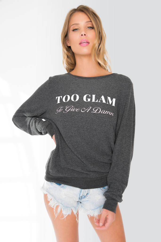 Too Glam Baggy Beach Jumper