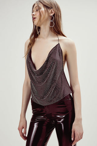 After Dark Halter Top