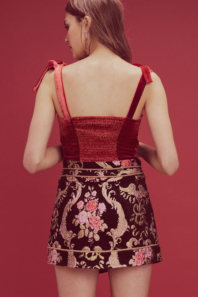 Brocade Tapestry Skirt