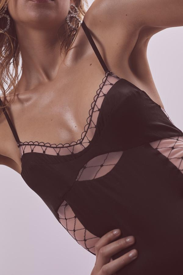 Burlesque Fishnet Bodysuit - Sugarillashop.com