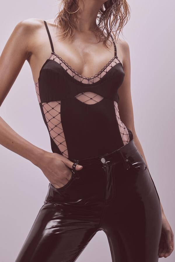 Burlesque Fishnet Bodysuit