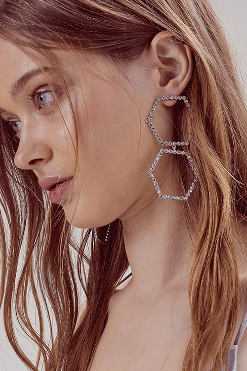 Celine Earrings - Sugarillashop.com