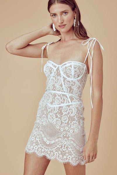 Tati Lace Corset Dress