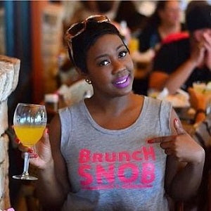 Women's Brunch Snob Pink T-shirt